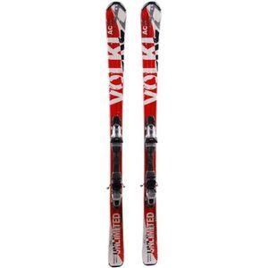 SKI Ski Volkl AC 7.4 rouge + fixations
