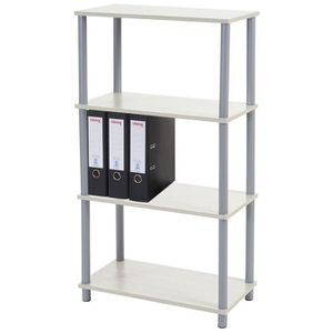 meuble etagere blanc 60 cm achat vente meuble etagere blanc 60 cm pas cher cdiscount. Black Bedroom Furniture Sets. Home Design Ideas