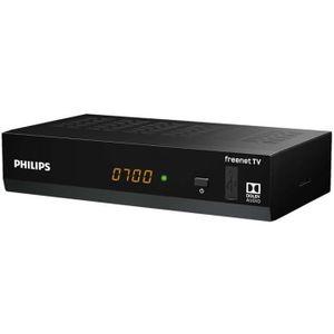 RÉCEPTEUR - DÉCODEUR   PHILIPS Décodeur DTR3502 HDMI TNT Full HD -DVB-T2