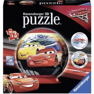 PUZZLE Ravensburger - 11825 - CARS Puzzle 3D 72 pcs - Dis