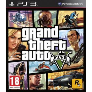 JEU PS3 Jeu Ps3 Grand Theft Auto V (GTA 5)