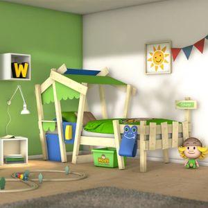 STRUCTURE DE LIT WICKEY Crazy Candy Lit pour enfant en  bois 90x200