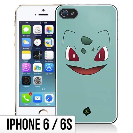 Coque iPhone 6-6S Pokemon - Bulbizarre