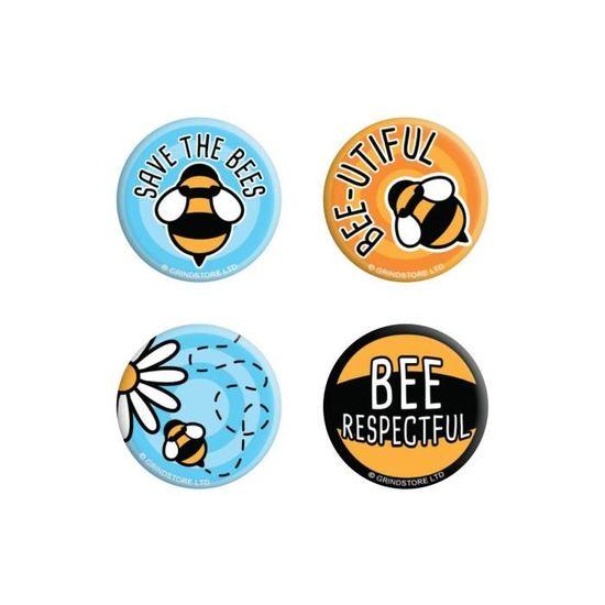 Lot de badges mixtes Nirvana Iconic