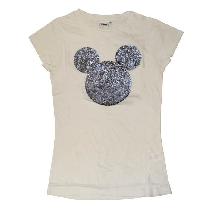 the best attitude 1fded 86fae disney-mickey-t-shirt-blanc-femme.jpg