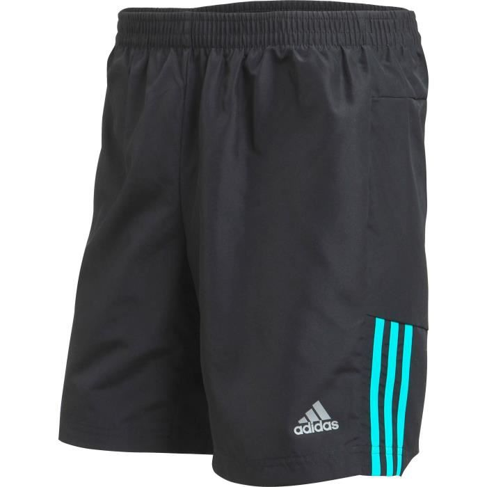 ADIDAS Short de running OZ 7 IN SHORT - Homme - Noir