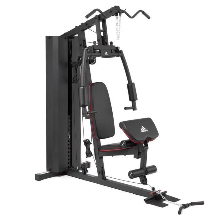 Adidas Performance - Musculation Home Gym - presse de musculation - 100 kg inclus