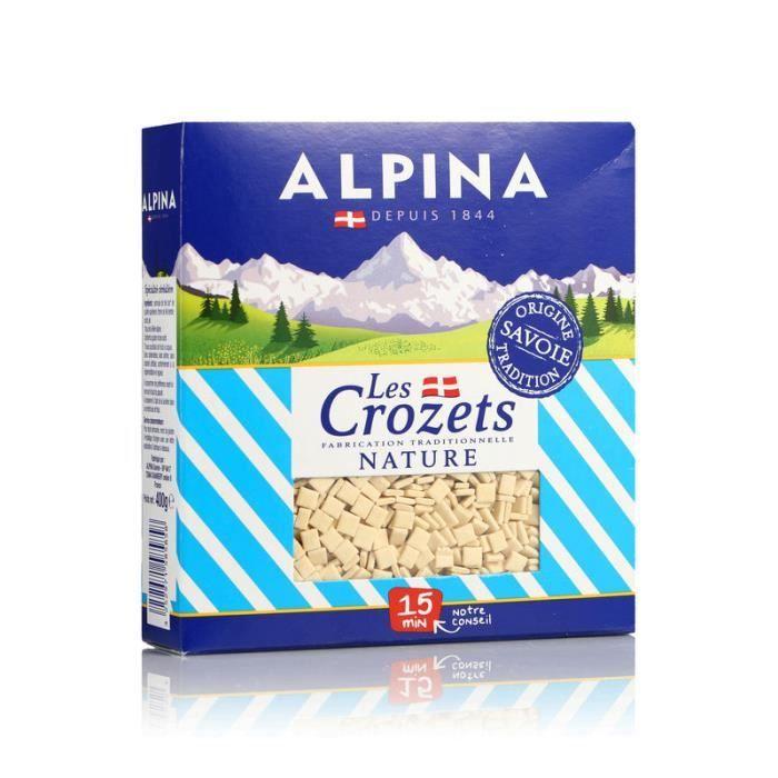 Crozets blancs - 400g - Contient du gluten et des œufs