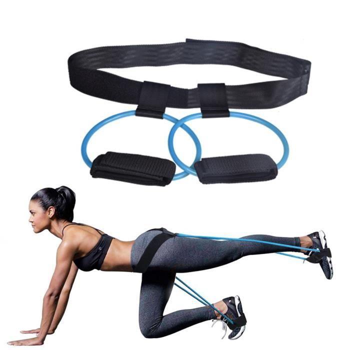 Femmes 30lb Hip Trainer Butt Booty Belt Band Body Glute Muscles Trainer Lifter Équipement de Noarlall 685