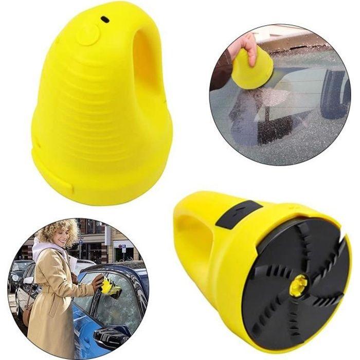 Dégivreur de Pare-Brises Grattoir à Glace pour Voitures Chargement USBe, Grattoir Pare-Brise Voiture, Raclette de Pare-Brise Pas