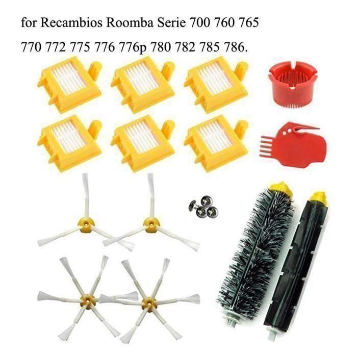 IRobot-Serie 700 760 Roomba 765 Brosse Latérale et filtres Hepa Brosse GJJ91004005