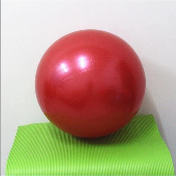 Ballon De Gym,pour la gymnastique ou pour le pilates pour Entraînement Grossesse Equilibre Chair,55 cm,rouge, La Stabilité