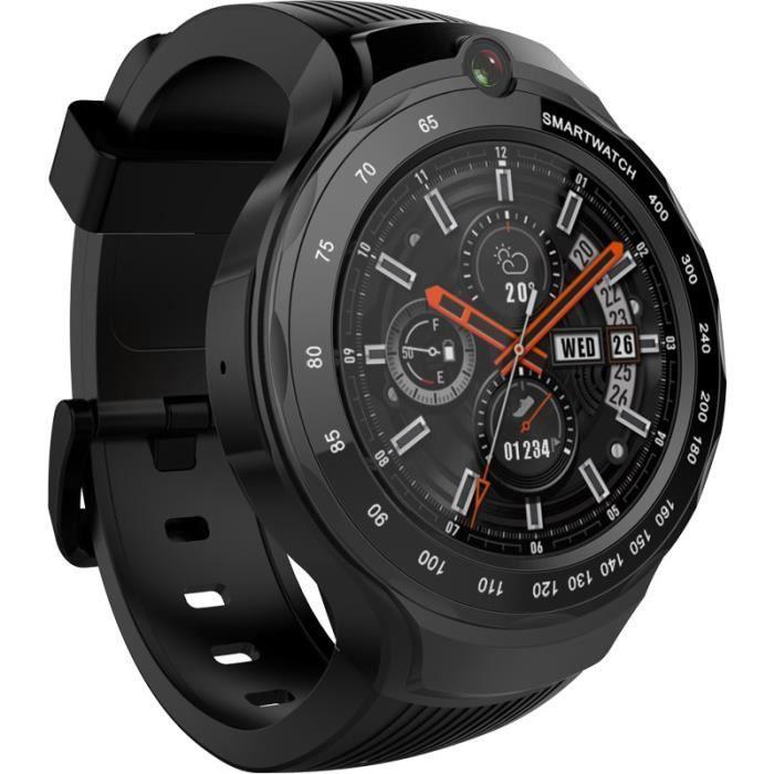 Smart watch 4G GPS WIFI double caméra 1.39- Android 7.1 Téléphone de montre intelligente 1+16GB