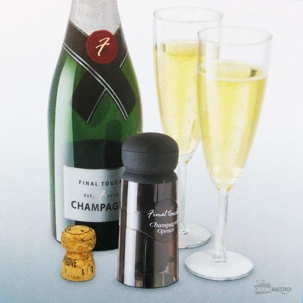 Ouvre bouteille de champagne - Noir