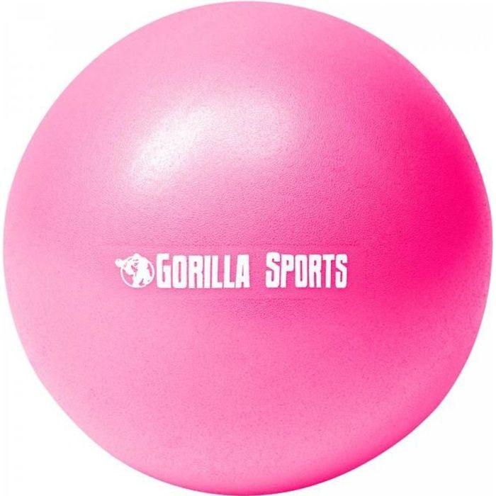 Ballon de Pilates rose Soft Ball - Diamètre : 18 cm