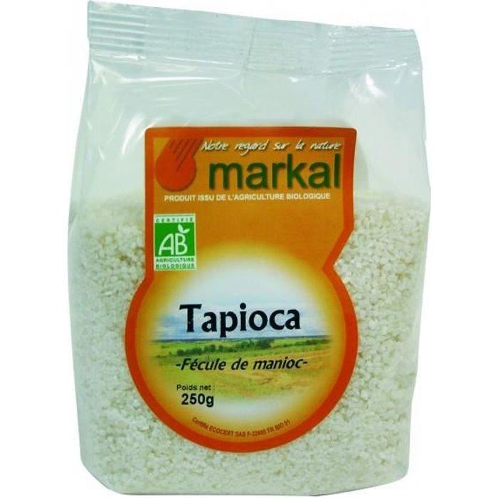 Tapioca , Fécule de Manioc, 250g, Markal