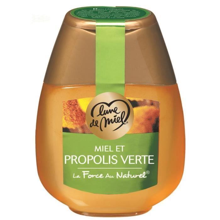 LUNE DE MIEL Miel et propolis - 250 g