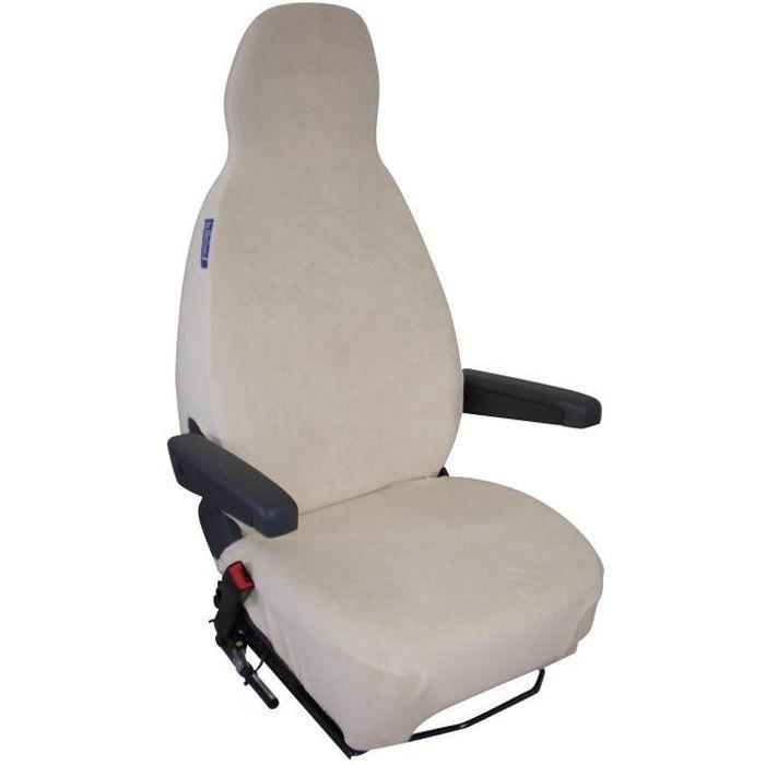 Narbonne Accessoires Housse de sièges éponge Coton Extensible Beiges