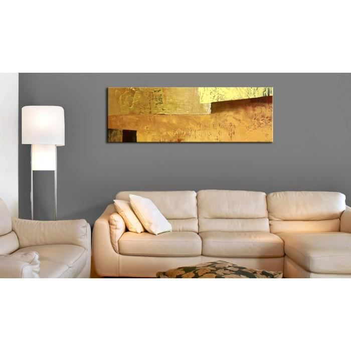 Tableau Modernes Abstraction Splendide mesure 120x40 Golden Torrent