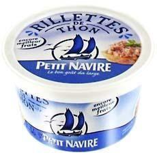 PETIT NAVIRE Rillettes de thon - 125 g