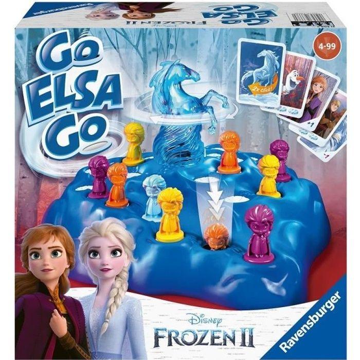 LA REINE DES NEIGES 2 Go Elsa Go ! Jeu de plateau simple et dynamique Ravensburger
