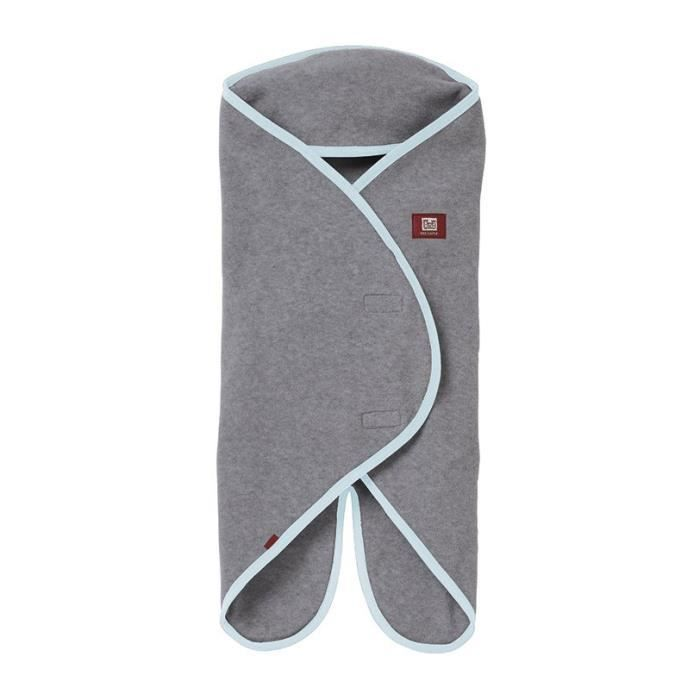 Red Castle Couverture Babynomade simple polaire 0-6 mois gris
