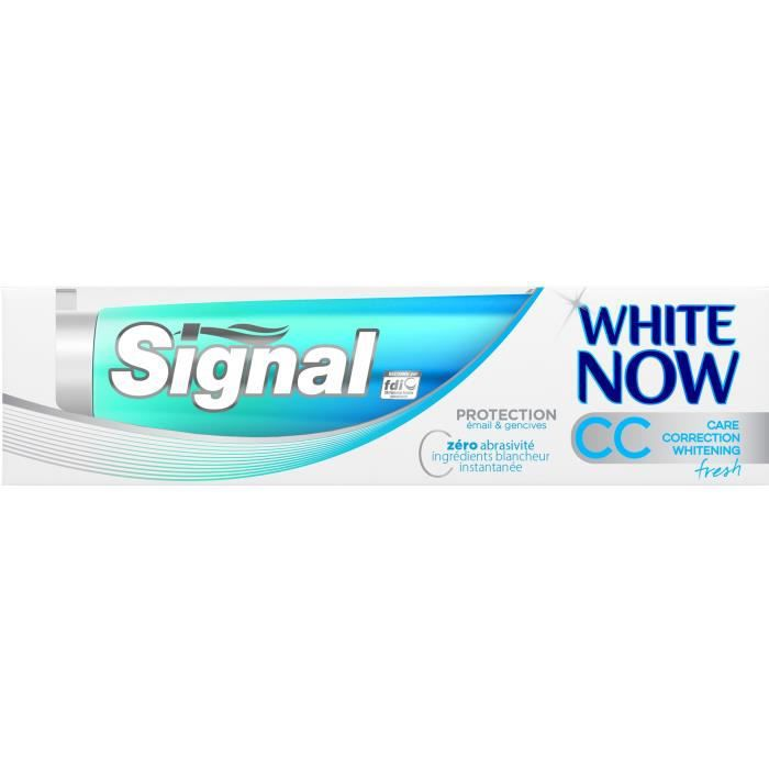 SIGNAL White Now CC Fresh - Dentifrice - 75 ml