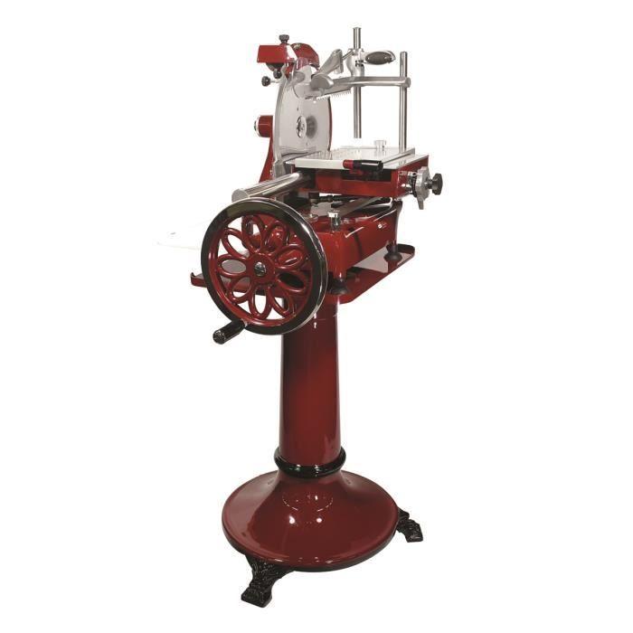 Trancheuse manuelle Volano rouge - 35 cm