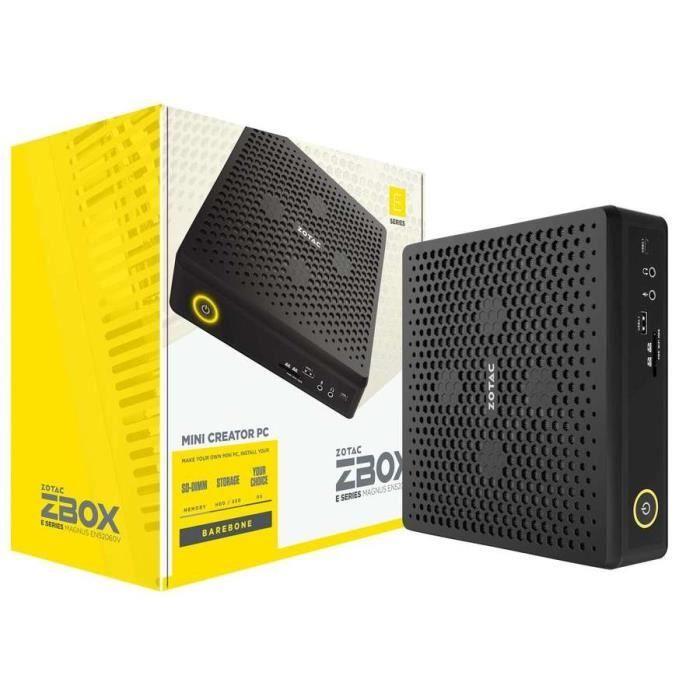 ZOTAC ZBOX MAGNUS EN52060V - Intel Core i5-9300H GeForce RTX 2060 Wi-Fi 6 / Bluetooth 5 (sans écran/mémoire/disque dur) ( Catégorie