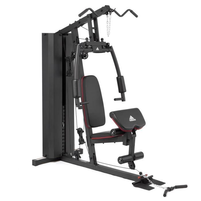 Adidas Performance Musculation Home Gym Presse De Musculation 100 Kg Inclus