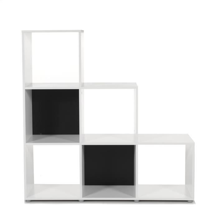 etagere murale 6 cases. Black Bedroom Furniture Sets. Home Design Ideas