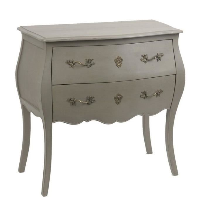 commode baroque taupe achat vente commode de chambre commode baroque taupe cdiscount. Black Bedroom Furniture Sets. Home Design Ideas
