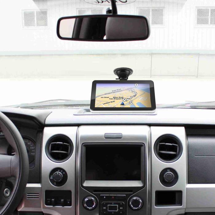 Navigateur Gps De 7 Pouces De Voiture Portable Tactile Navigation Fm 8g Ddr128m Europe Carte Gratuite Achat Vente Gps Auto Navigateur Gps De 7 Pouces De Cdiscount
