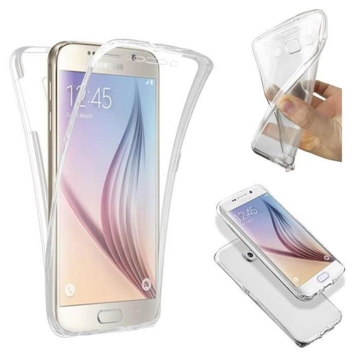 coque silicone gel integral samsung galaxy a3 2016 transparent clipsable achat coque bumper. Black Bedroom Furniture Sets. Home Design Ideas
