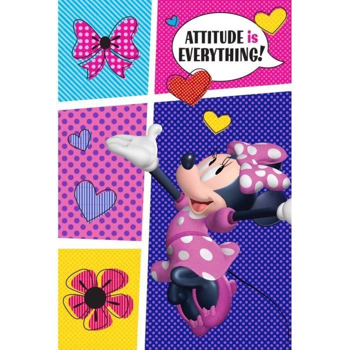 TAPIS DE COULOIR Disney Minnie - Tapis chambre enfants 80x120 cm