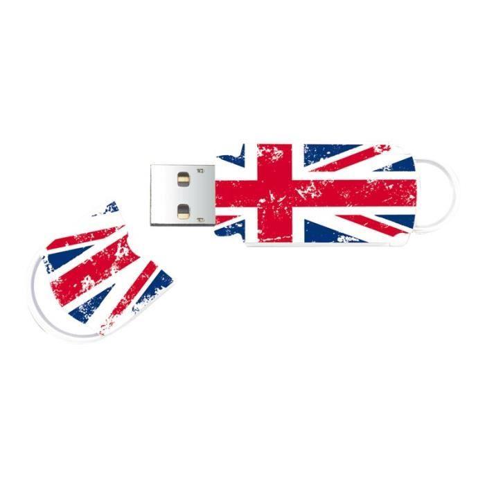DISQUE DUR SSD Integral Xpression Union Jack Clé USB 64 Go USB 2.