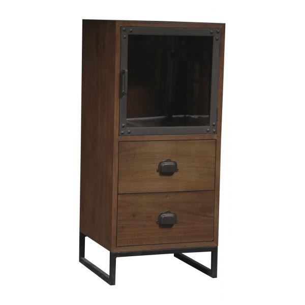 chiffonnier industriel lazare achat vente chiffonnier semainier chiffonnier industriel. Black Bedroom Furniture Sets. Home Design Ideas