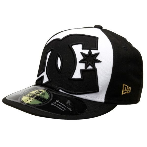 casquette dc shoes maddo new era h black white achat. Black Bedroom Furniture Sets. Home Design Ideas