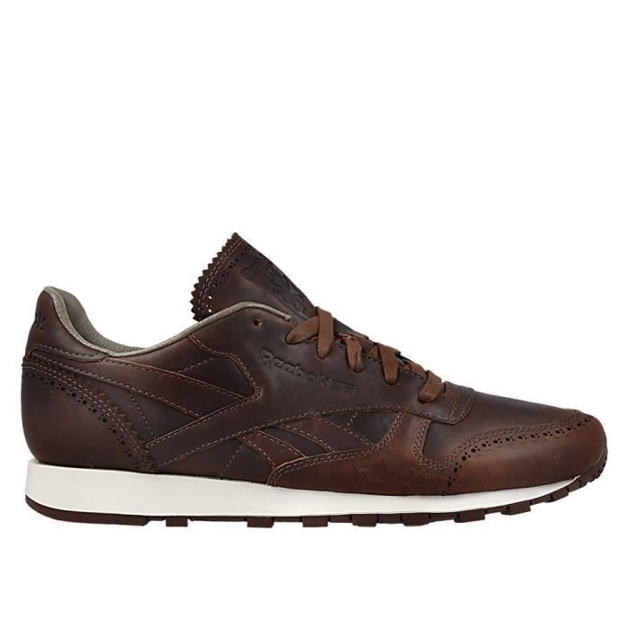 Chaussures Reebok CL Leather Lux Horw Justgolden Brownch