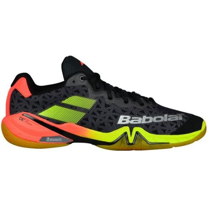 Babolat Chaussures Homme Indoor Shadow Tour Rouge//Noir//Jaune PE 2019