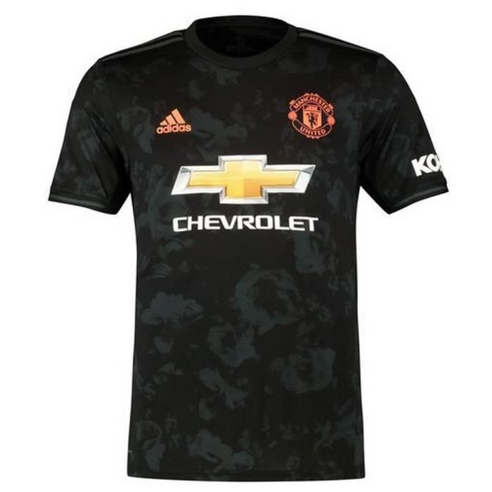 detailed pictures on wholesale hot sale Maillot Adidas Enfant Manchester United Third Saison 2019-2020