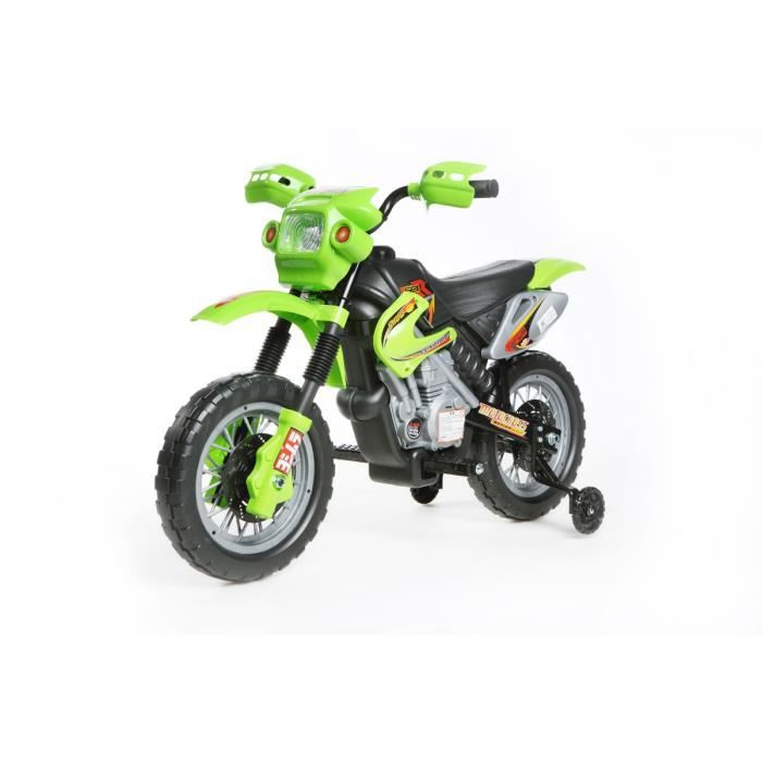 6v moto lectrique motocross pour enfant rouge achat vente moto scooter cdiscount. Black Bedroom Furniture Sets. Home Design Ideas