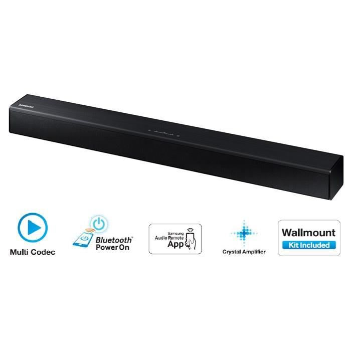 samsung hw j250 barre de son 80w 2 2ch bluetooth barre