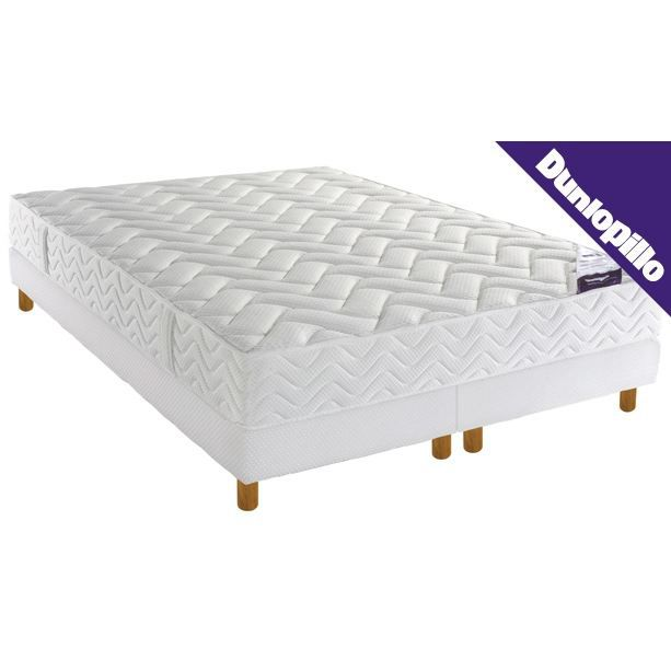 matelas et sommier dunlopillo mousse visco 160 achat vente sommier et matelas matelas et. Black Bedroom Furniture Sets. Home Design Ideas