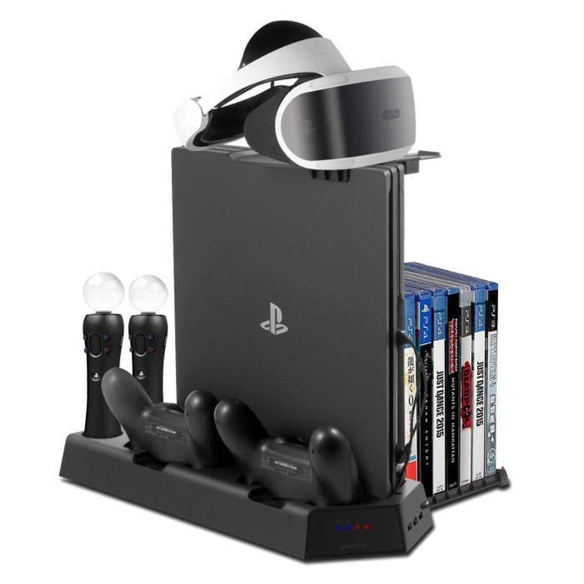 PACK ACCESSOIRE Support PS VR avec Ventilateur de Refroidissement,
