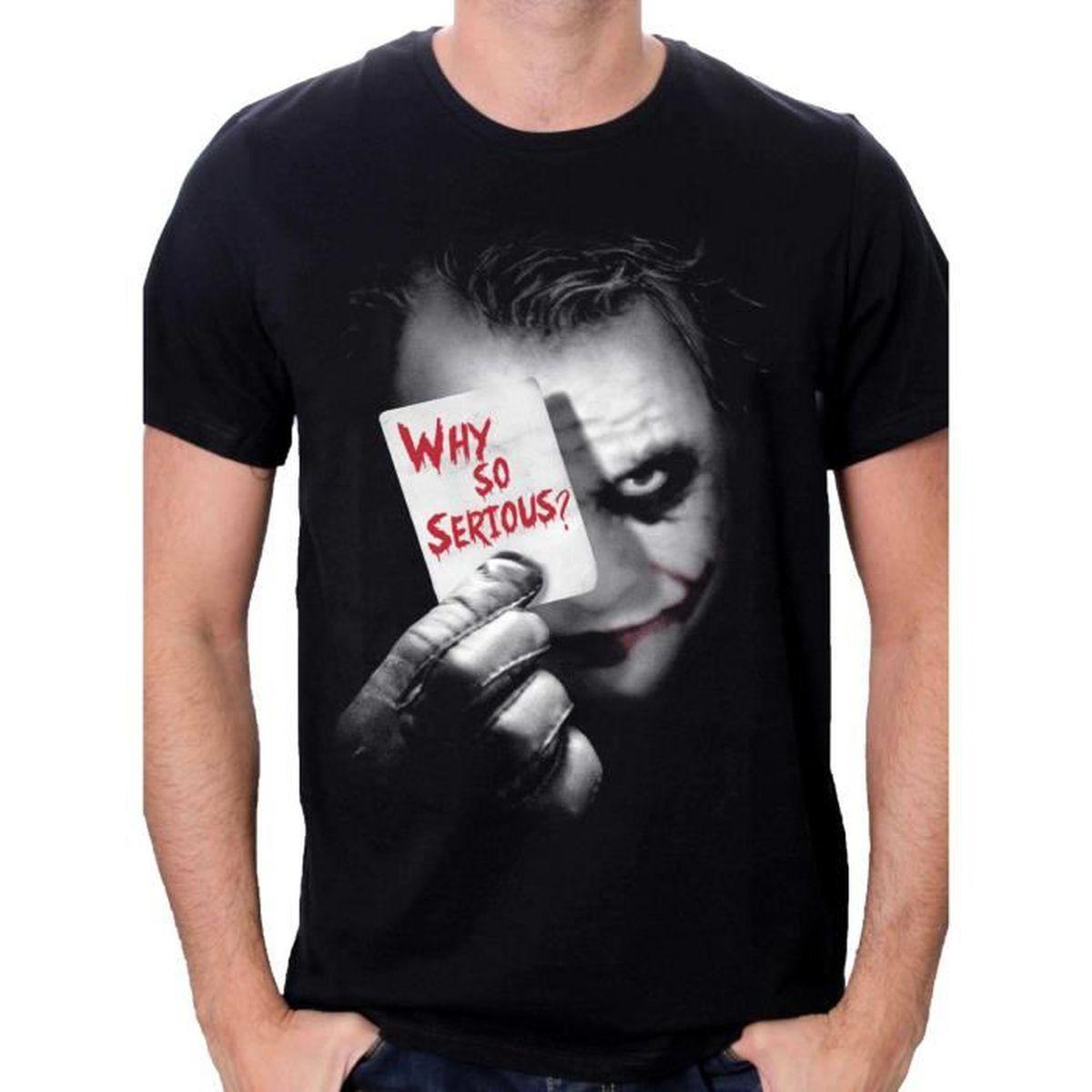 T-SHIRT Tshirt homme Batman - Why so ser…