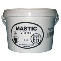 COLLE - PATE FIXATION Mastic vitrier - 5 Kg