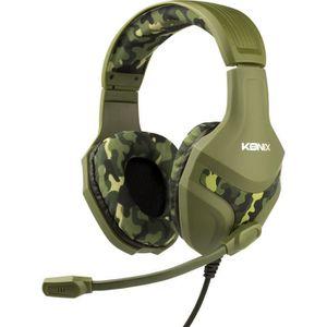 CASQUE AVEC MICROPHONE Casque Konix PS-400 Camouflage pour PS4-Casque Gam