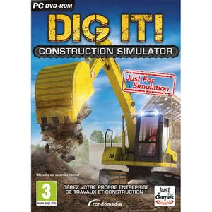 JEU PC Dig It : Construction Simulator Jeu PC