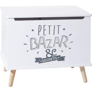 COFFRE - MALLE Coffre de rangement enfant Petit Bazar - L. 58 x H